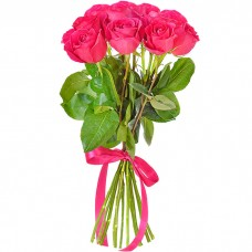 Букет 11 розовых роз